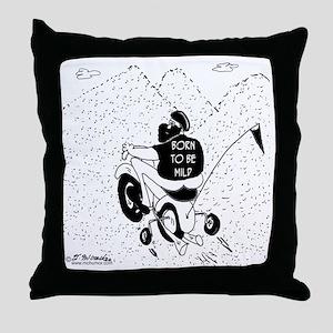 8693_ATV_cartoon Throw Pillow