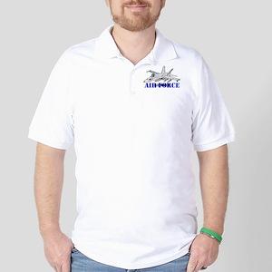 Retired Air Force Golf Shirt