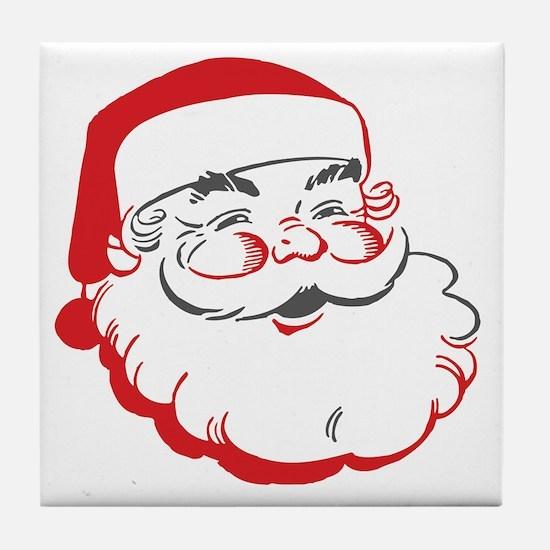 Santa Tile Coaster