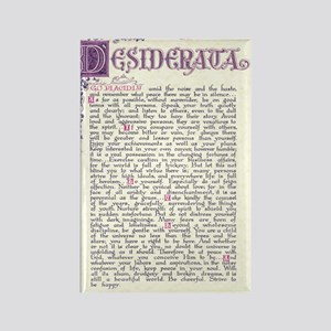 desiderata  Rectangle Magnet