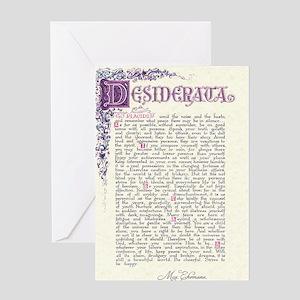desiderata  Greeting Card