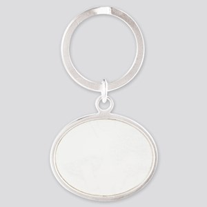 pong Oval Keychain