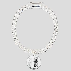 5469_relationship_cartoo Charm Bracelet, One Charm