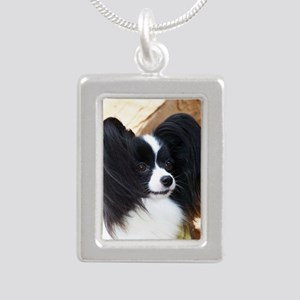 sonrisa Silver Portrait Necklace