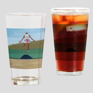 In Flight a shirt Drinking Glass