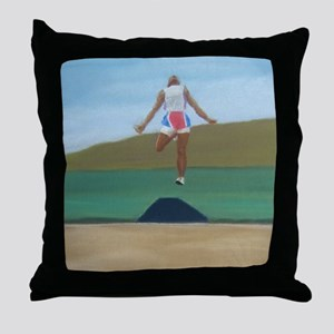 In Flight a shirt Throw Pillow