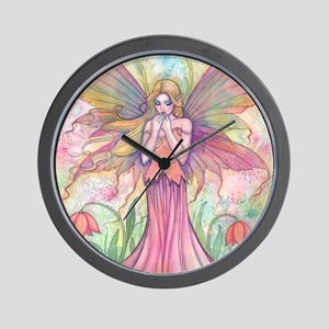 wildflower wide for ipad case Wall Clock