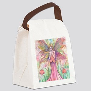 wildflower wide for ipad case Canvas Lunch Bag