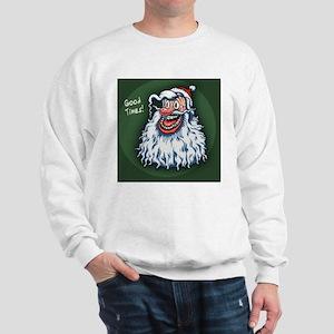 lowbrow-santa-BUT Sweatshirt