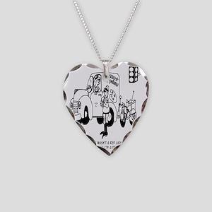 4680_art_cartoon Necklace Heart Charm