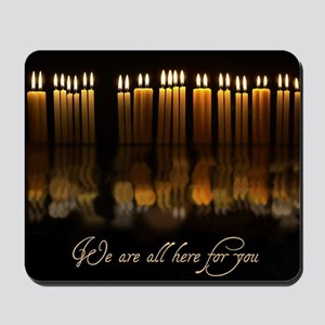 Candles in Memory Mousepad