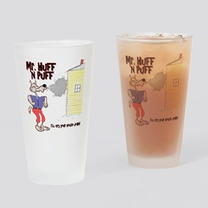 Mr Huff and Puff Drinking Glass