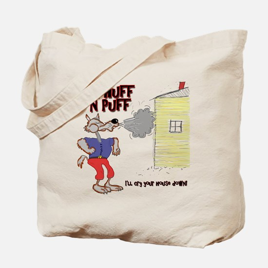Mr Huff and Puff Tote Bag