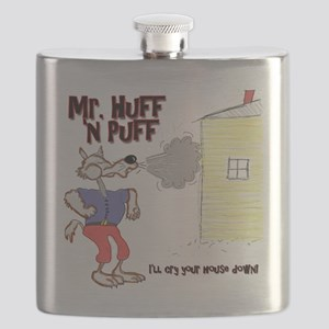 Mr Huff and Puff Flask