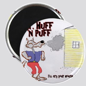 Mr Huff and Puff Magnet