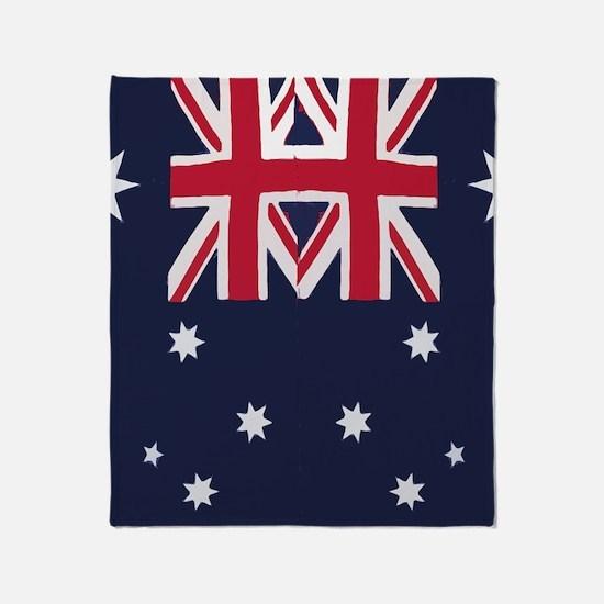 flagthongs Throw Blanket