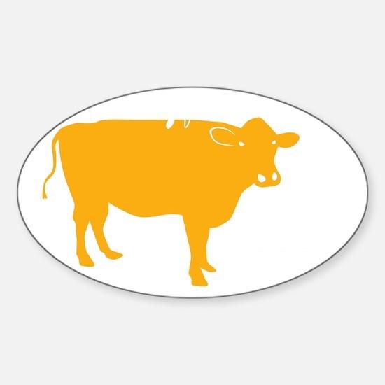 max friend not food apron Sticker (Oval)