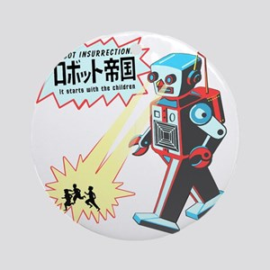 robotinsurrection Round Ornament