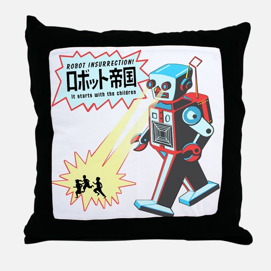 robotinsurrection Throw Pillow