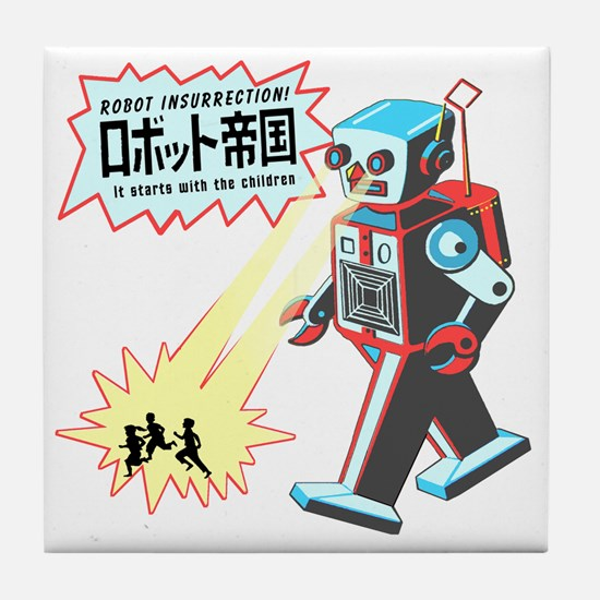 robotinsurrection Tile Coaster