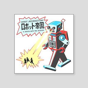 "robotinsurrection Square Sticker 3"" x 3"""