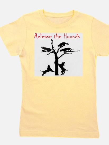 coon treed plain Girl's Tee