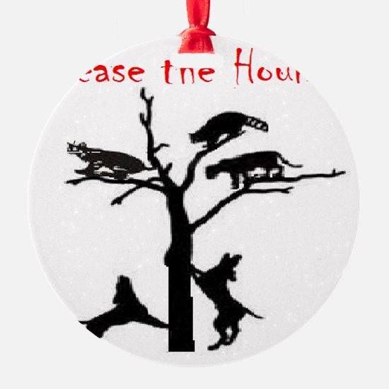 coon treed plain Ornament