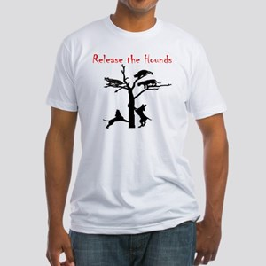 coon treed plain Fitted T-Shirt
