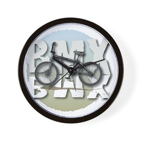 BMX GRAPHITE CIRCLE Wall Clock