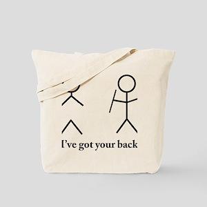 i got your bacvk Tote Bag