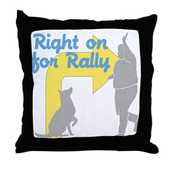 Rally 1 Throw Pillow