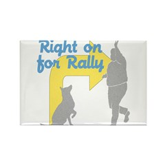 Rally 1 Rectangle Magnet