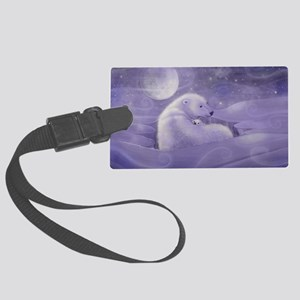 Gentle Winter cp Large Luggage Tag