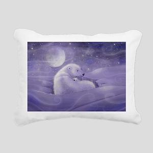 Gentle Winter cp Rectangular Canvas Pillow