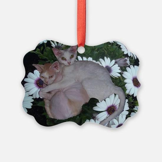 Cat-FlowerPot Ornament
