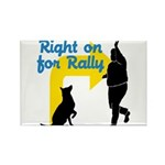 Rally 2 Rectangle Magnet