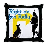 Rally 2 Throw Pillow
