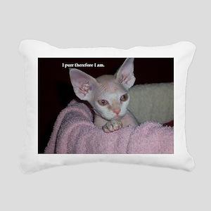 Cutie-Laptop Rectangular Canvas Pillow