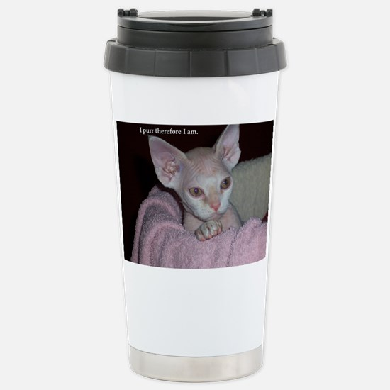 Cutie-Laptop Stainless Steel Travel Mug