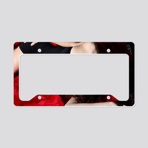 Sexy Woman License Plate Holder