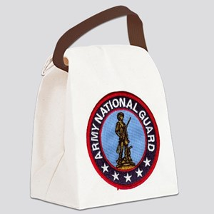 national guard Canvas Lunch Bag