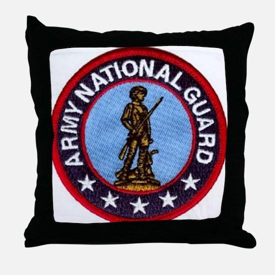national guard Throw Pillow