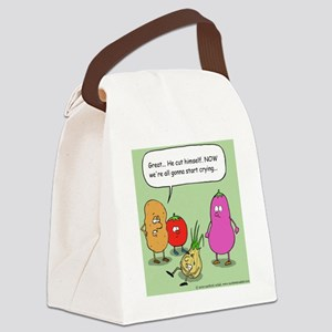 onioncolor Canvas Lunch Bag