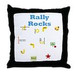 Rally 3 Throw Pillow