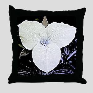 Trillium Throw Pillow