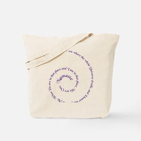 namaste_bc Tote Bag
