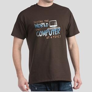 Saving the World Dark T-Shirt
