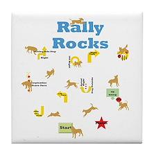 Rally 4 Tile Coaster