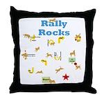 Rally 4 Throw Pillow