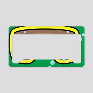 goggle_mpad_green_N License Plate Holder